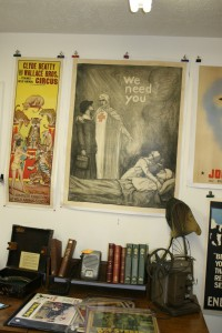 ww1 red crossvintage poster