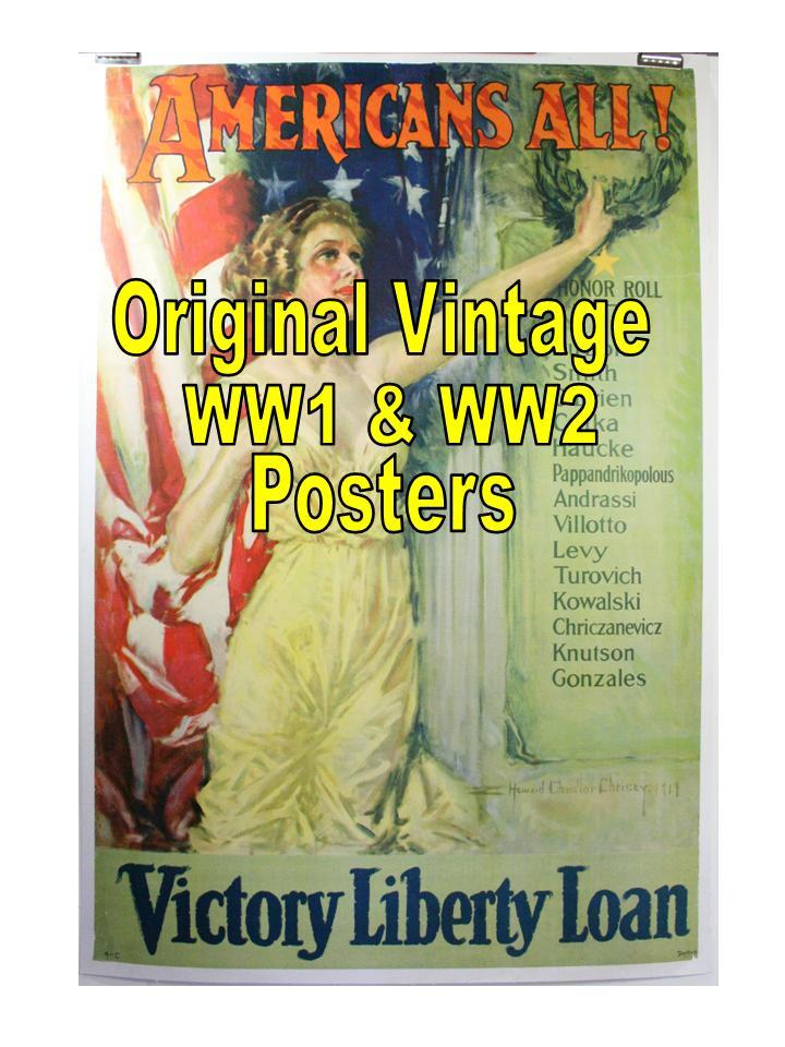 WW Posters